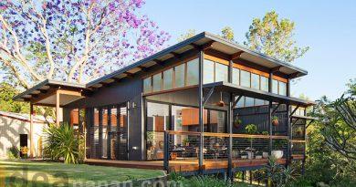 แบบบ้านชั้นเดียว Modern Tropical Samfordvalley House