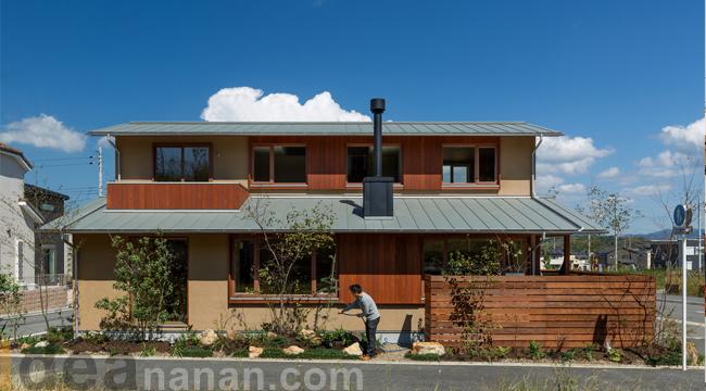 แบบบ้าน 2ชั้น สไตล์ คอนเทมโพรารี่ Kizugawa