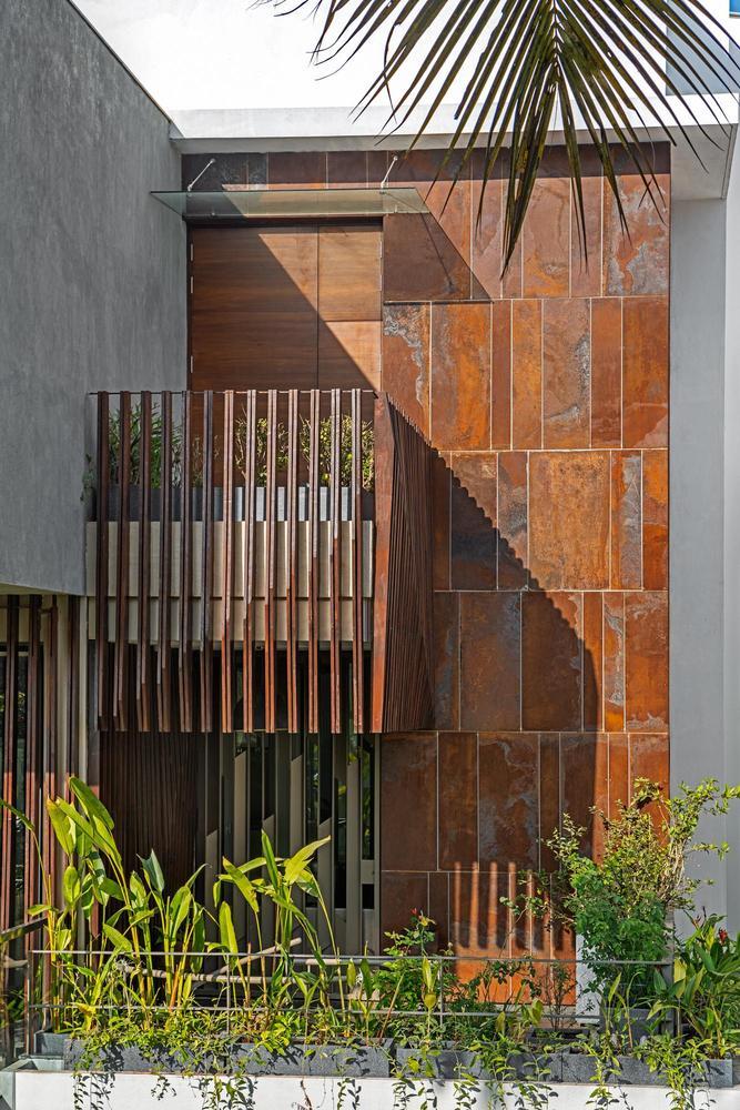 แบบบ้าน4ชั้น สไตล์โมเดิร์นทรอปิคอล EP012 แบบบ้านBelaku