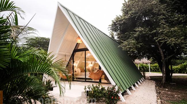 บ้านน็อคดาวน์ A FRAME Cabin