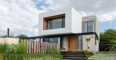 แบบบ้าน2ชั้น สไตล์โมเดิร์นลอฟท์ Loft Concrete