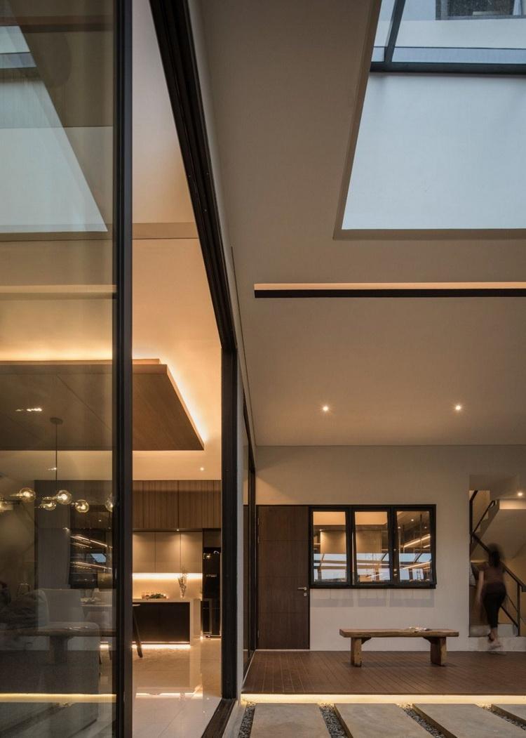 แบบบ้านโมเดิร์นสองชั้น modern House SR