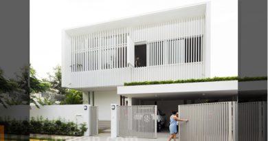 แบบบ้านสองชั้น Courtyard Home