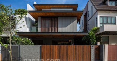 แบบบ้าน 3ชั้น Modern Tropical House
