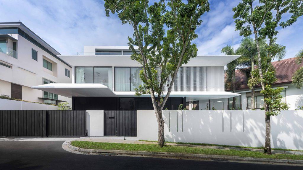 แบบบ้านสามชั้นสวยๆ Eave House