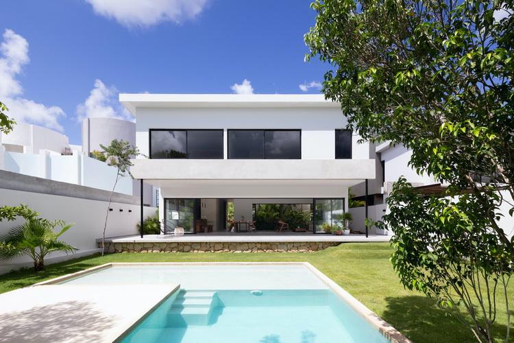 แบบบ้าน โมเดิร์น2ชั้น Golondrinas34 House