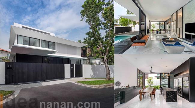 แบบบ้านสองชั้นสวยๆ Eave House