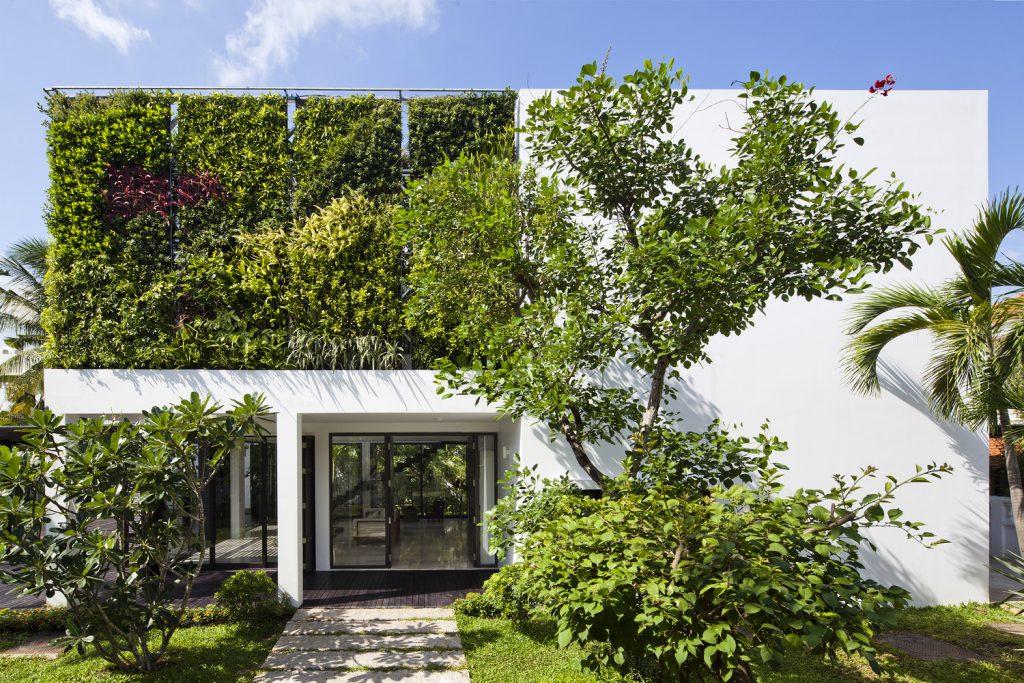แบบบ้านต้นไม้ Thao Dien House