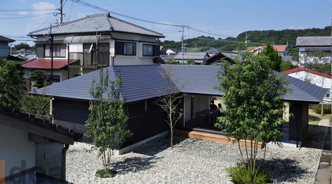 บ้าน ชั้นเดียว House Shimokitakata