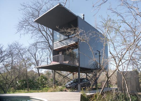 แบบบ้านน็อคดาวน์ 3ชั้น Lifting
