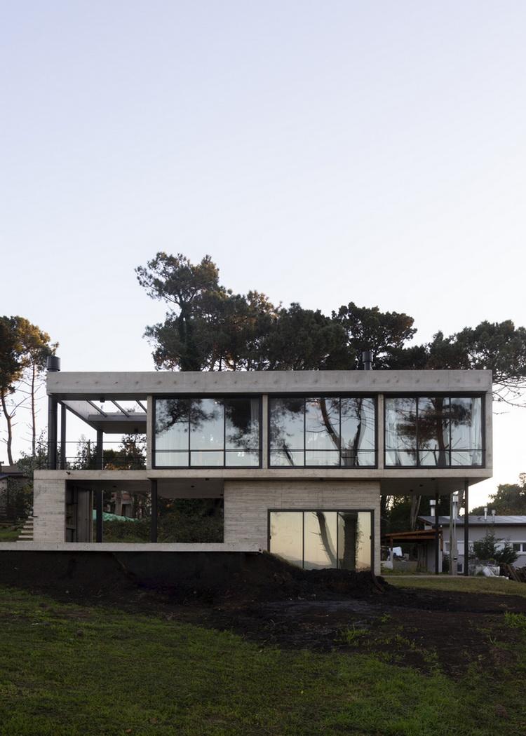 แบบบ้านโมเดิร์นยกพื้น Nono House