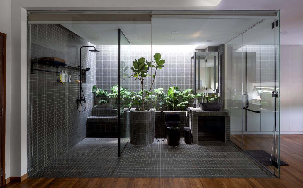 บ้านสวยๆ แบบบ้านโมเดิร์น Introvert House