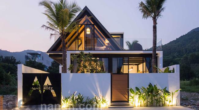 แบบบ้านโมเดิร์น House 85 Design