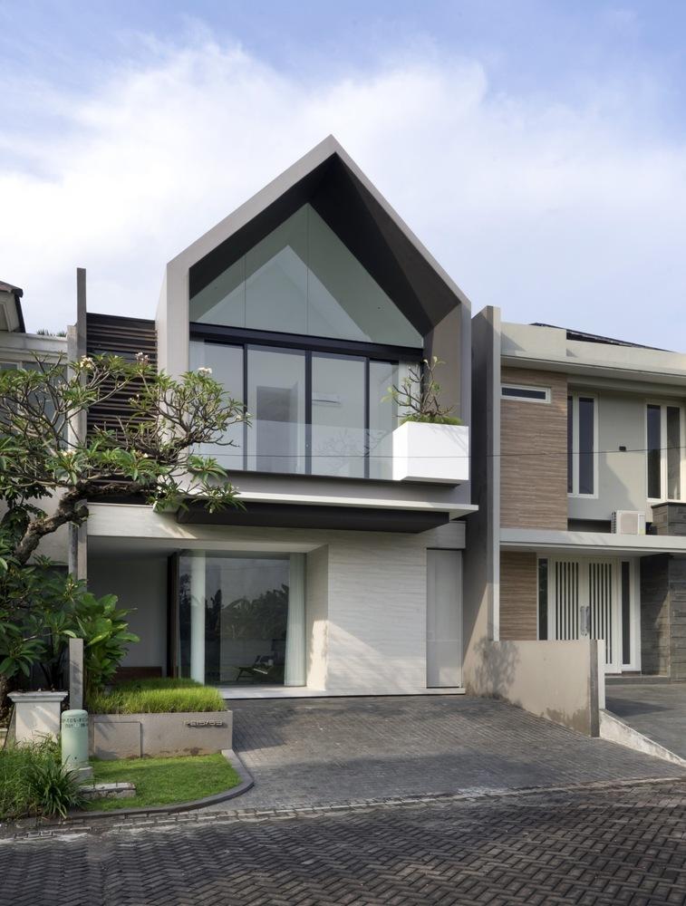 บ้านสองชั้นโมเดิร์น 3H House
