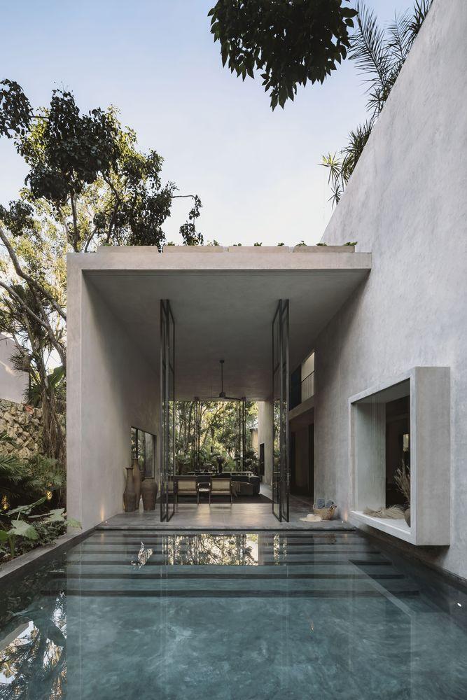 แบบบ้านชั้นครึ่งเล่นระดับ Aviv House