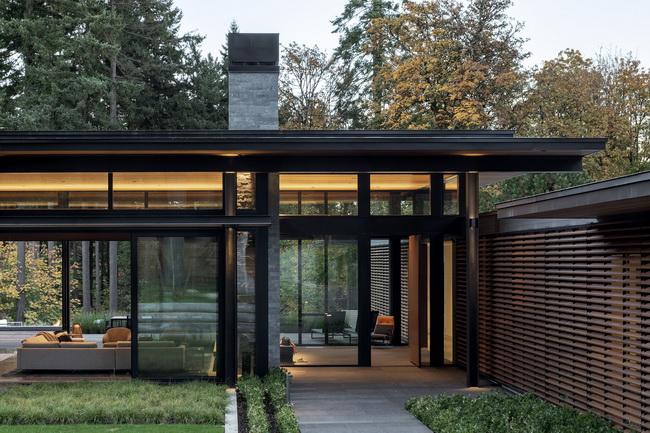 บ้านชั้นเดียว สไตล์โมเดิร์น Glass Link