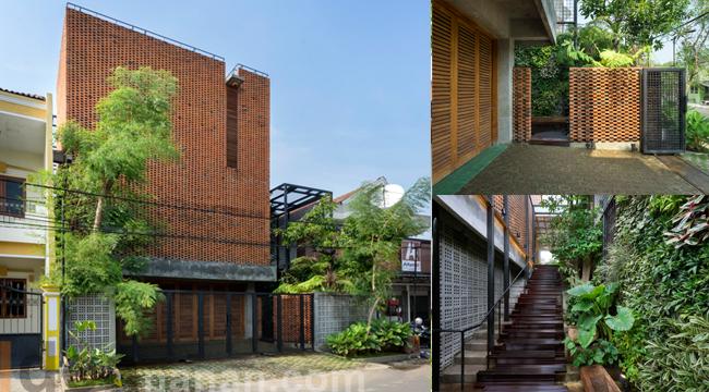 บ้าน3ชั้น สวยๆ Omah Boto House
