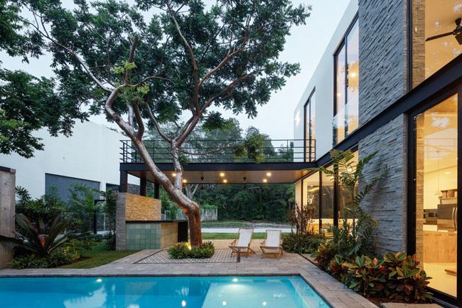 บ้านสองชั้น สวยๆ La Blanca