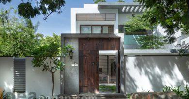 บ้านสวยๆ 3ชั้น Courtyard Villa