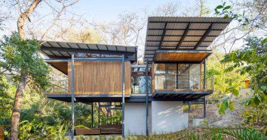 บ้านโครงเหล็ก 2ชั้น Jungle Frame