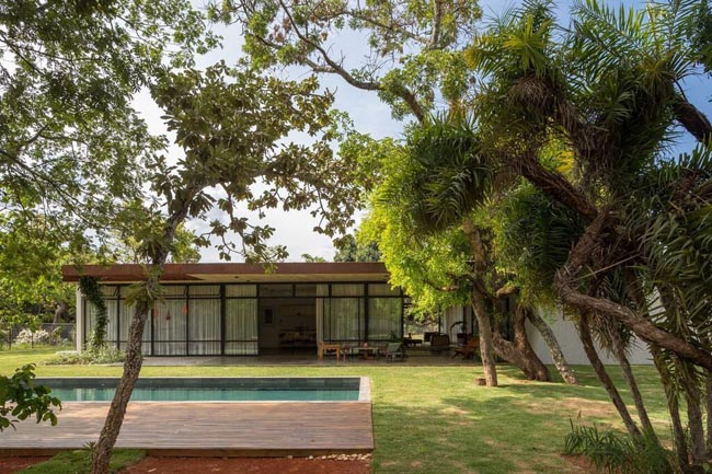 บ้านชั้นเดียว สวยๆ Itaipu House