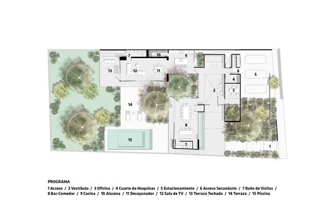 แบบแปลนชั้น2 บ้านสวยในสวน