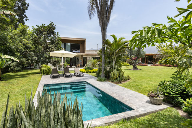 บ้าน2ชั้นเล็กๆ Pachacamac House