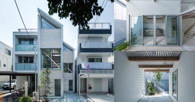 บ้านหน้าแคบ โมเดิร์น House for Living