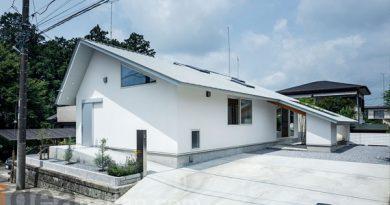 บ้านชั้นเดียวมินิมอล Nishinomiya House