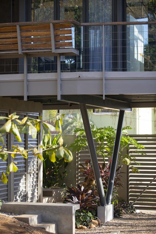 บ้านโมเดิร์น2ชั้นเล็กๆ Garden House