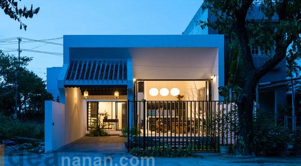 รีโนเวท แบบบ้านชั้นครึ่ง Khanh House
