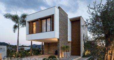 บ้านทรงโมเดิร์น สองชั้น AN House