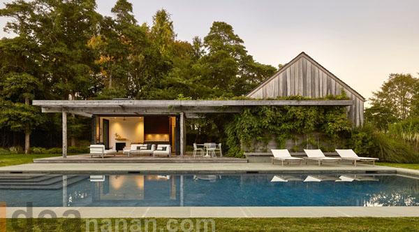 บ้านเรือนไม้ Pool House