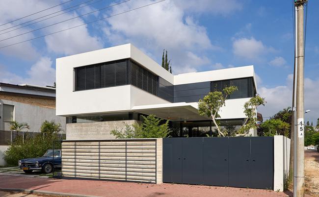 บ้าน สไตล์โมเดิร์น Neve Monoson