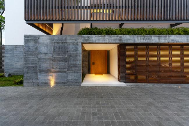 บ้านทรงโมเดิร์นสวยๆ Rumah Bias