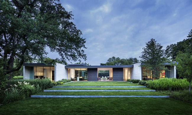 แบบบ้านสวน2ชั้น Preston Hollow
