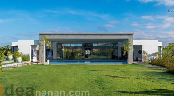 แบบบ้านชั้นเดียวสวยงาม anapriya Residence
