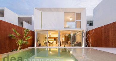 บ้านสีขาวโมเดิร์น Nahsac House