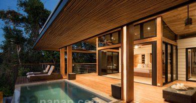 แบบบ้านสวนหลังเล็กๆ Earth-and-Sea House