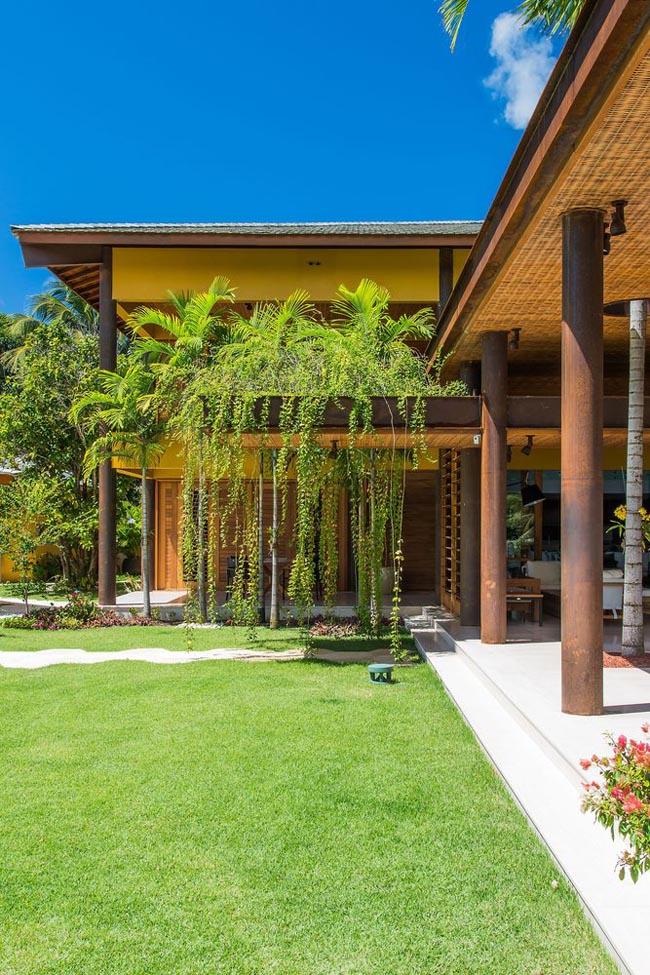แบบบ้านสวน รีสอร์ท Interlagos House