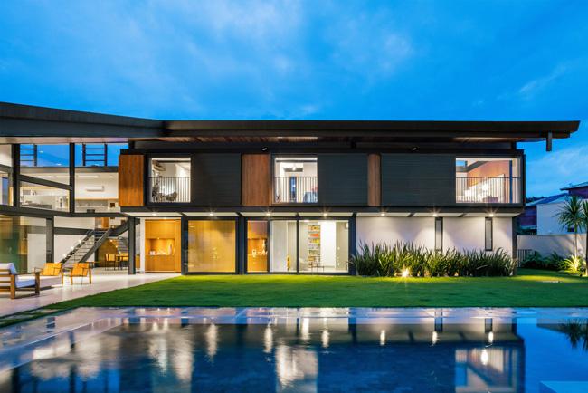 ไอเดียบ้าน โมเดิร์น CR House