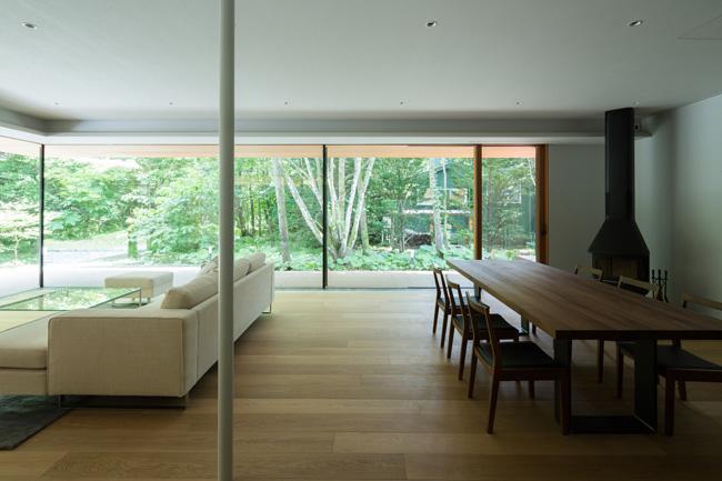 บ้านไม้โมเดิร์น ชั้นเดียว Yokouchi Residence