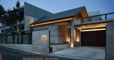 บ้านปูน ชั้นเดียว Hikari House