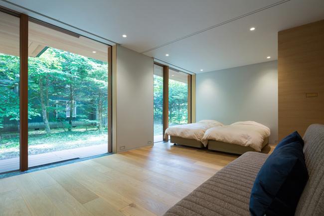 ห้องนอน แบบบ้านสวยๆ แบบบ้านชั้นเดียว