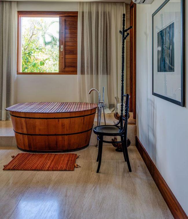 ห้องน้ำแบบบ้านสวน สไตล์รีสอทร์ท